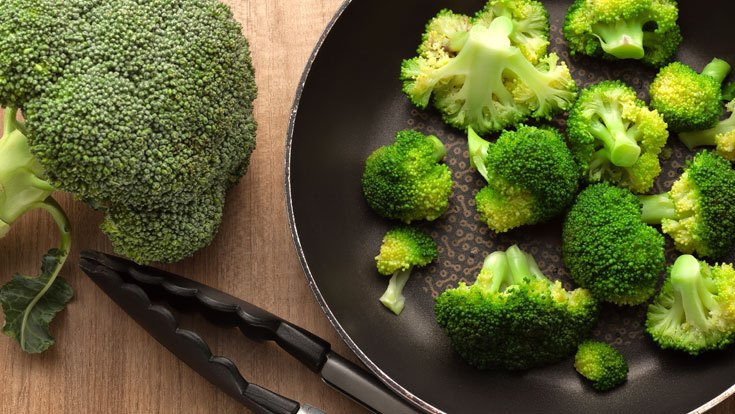 Broccoli tips
