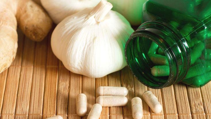 garlic as antibiotic