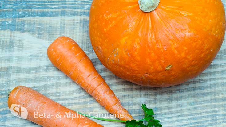 Beta and Alpha Carotene