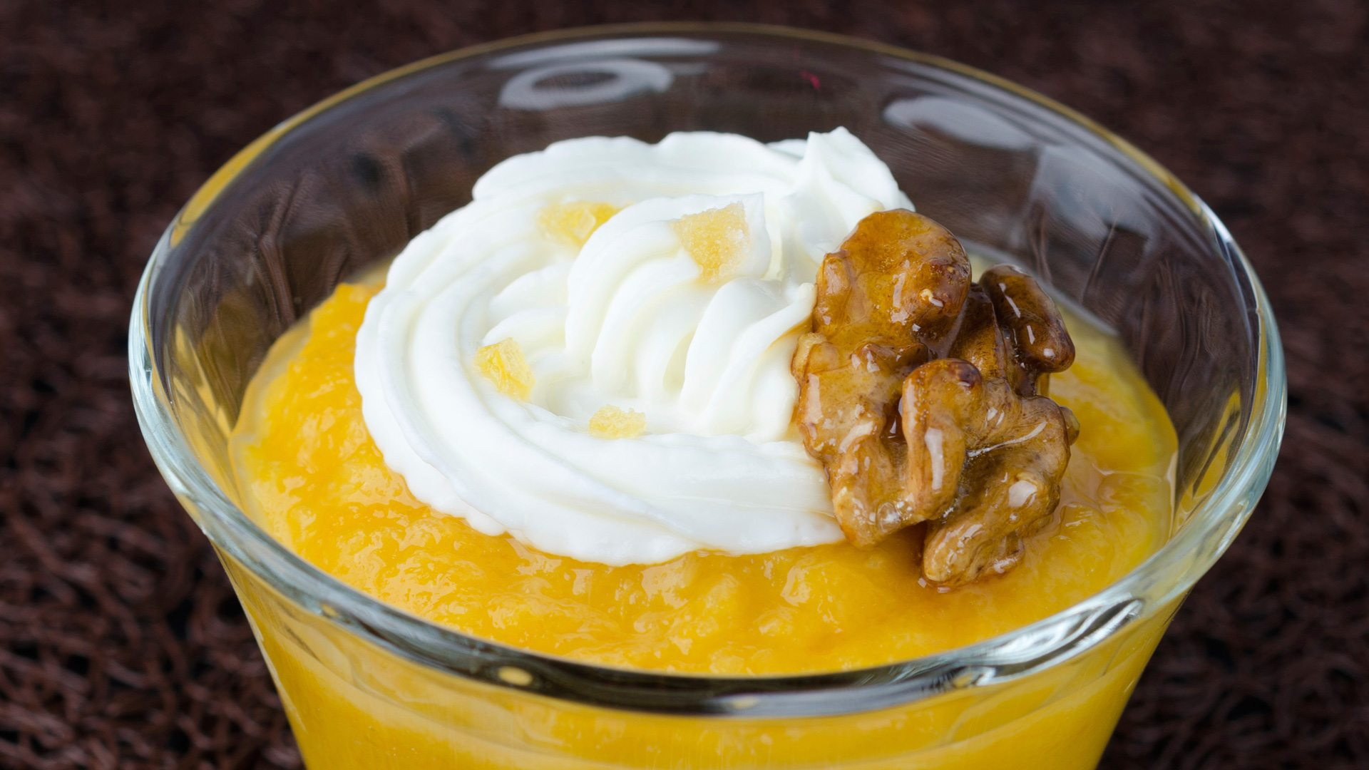 heart healthy pumpkin custard