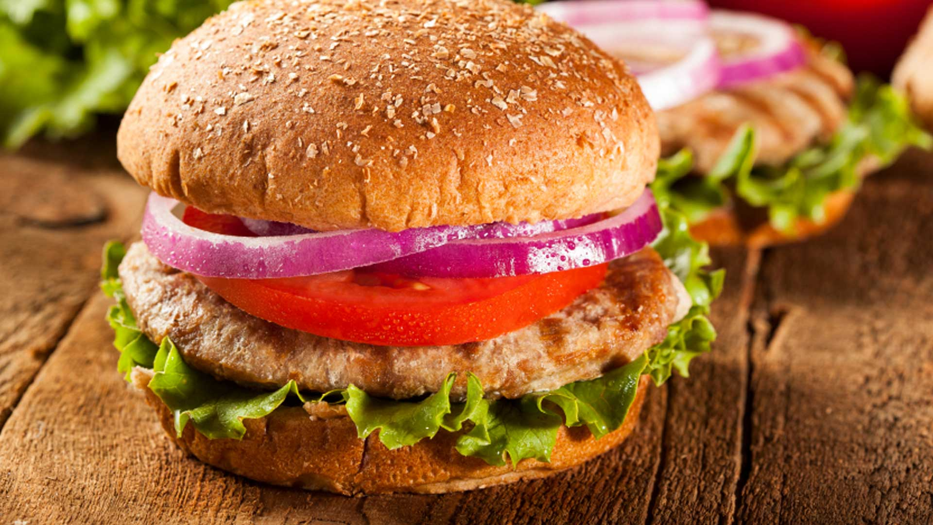 SuperFoods Yummy Turkey Burger Recipe