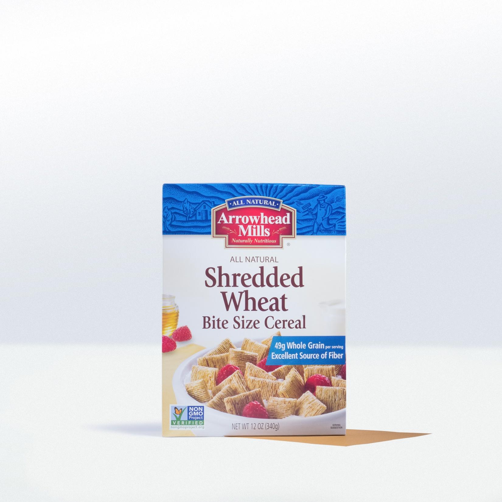 Arrowhead Mills-Shredded WheatBite Size Cereal