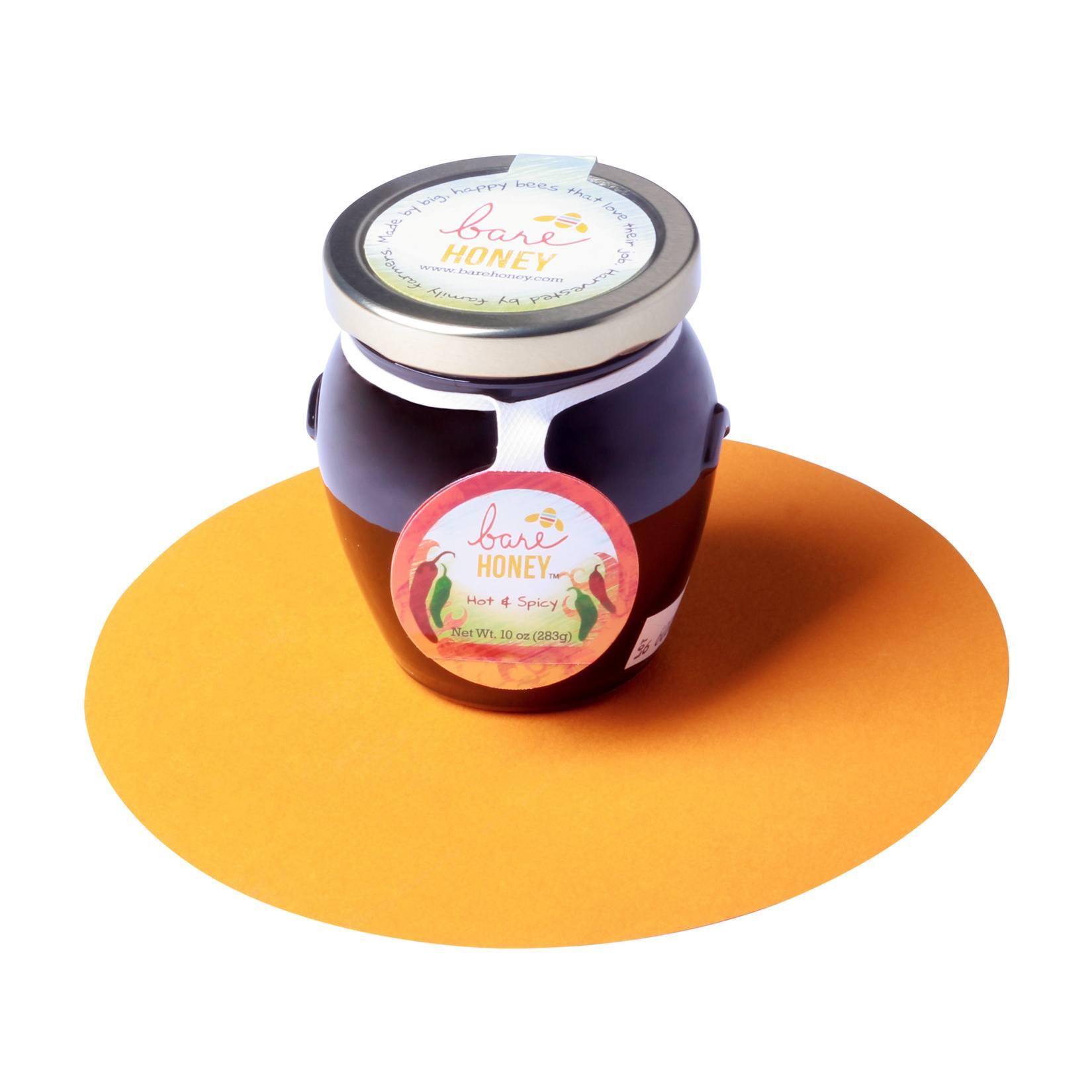 Bare Honey-Hot and Spicy Honey