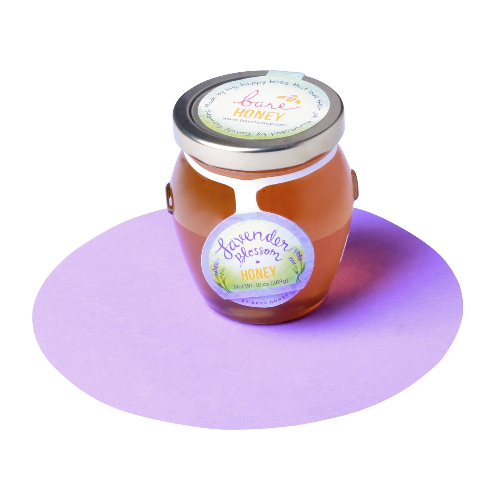 Bare Honey-Lavender Blossom Honey