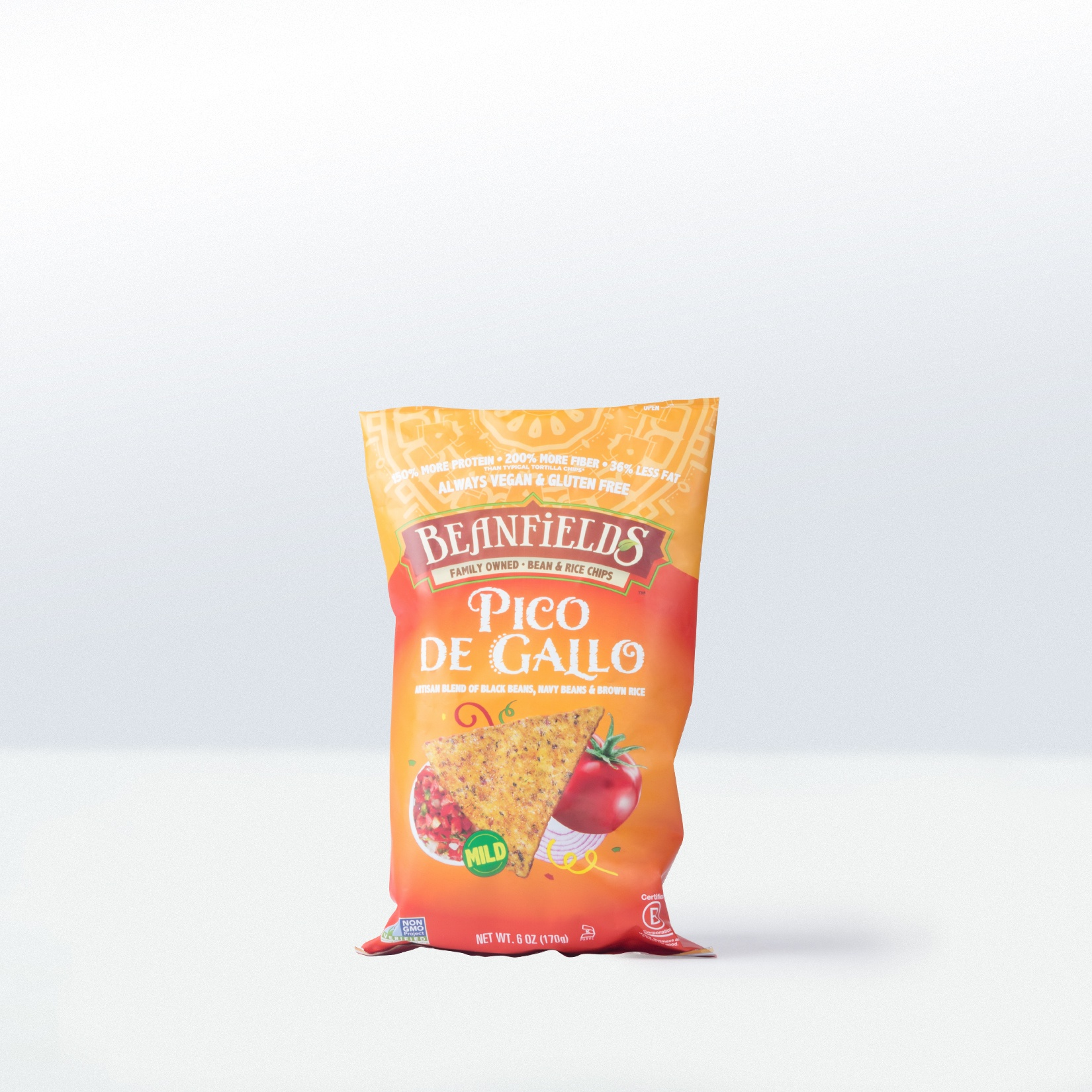 Beanfields-Pico del GalloBean and Rice Chips