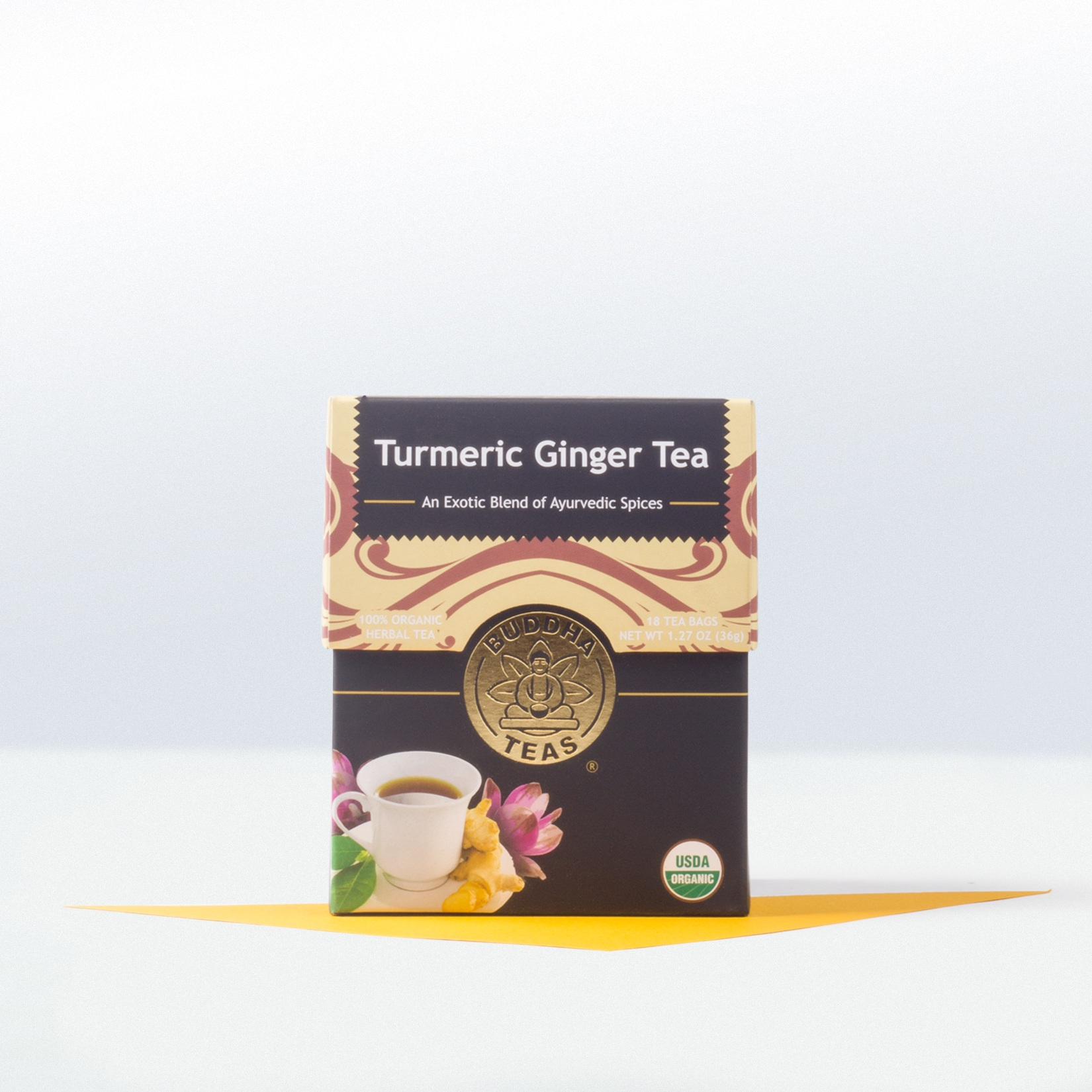 Buddha Teas-Tumeric Ginger Tea