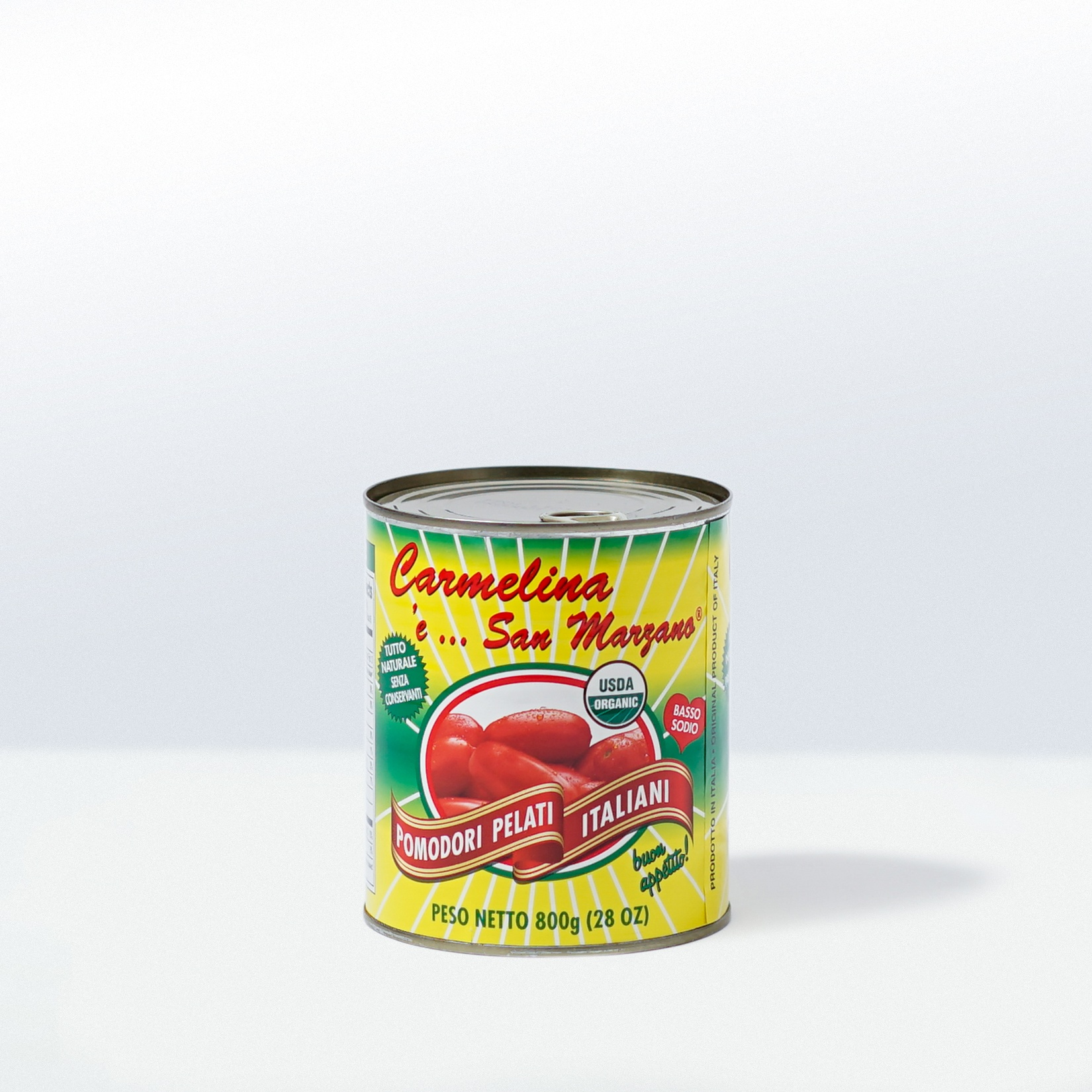 Carmelina 'e San Marzano-Organic ItalianWhole Peel Tomatoes