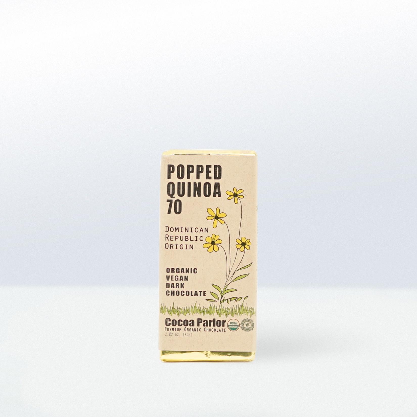 Cocoa Parlor-Popped Quinoa 70