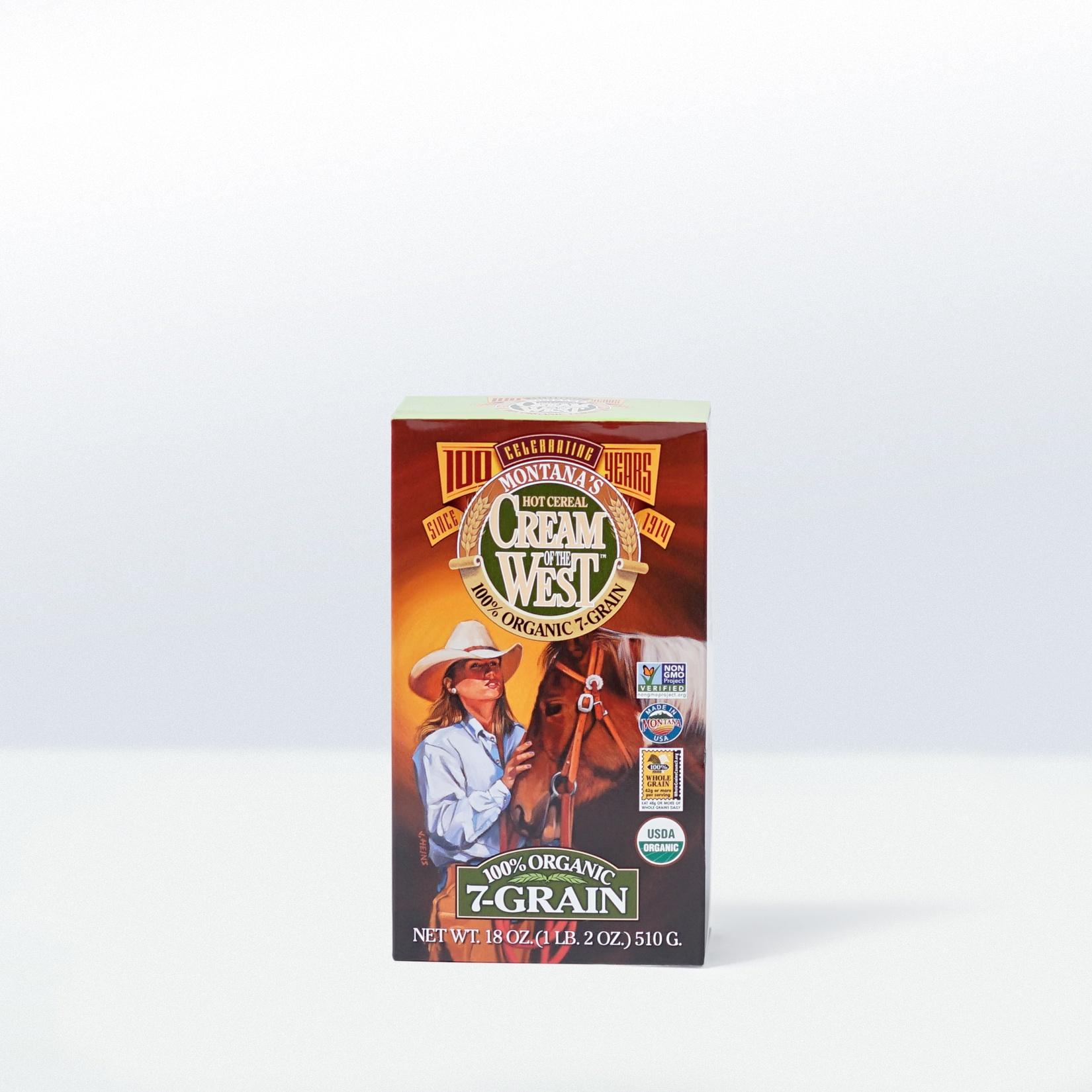 Cream of the West-100% Organic 7 Grain