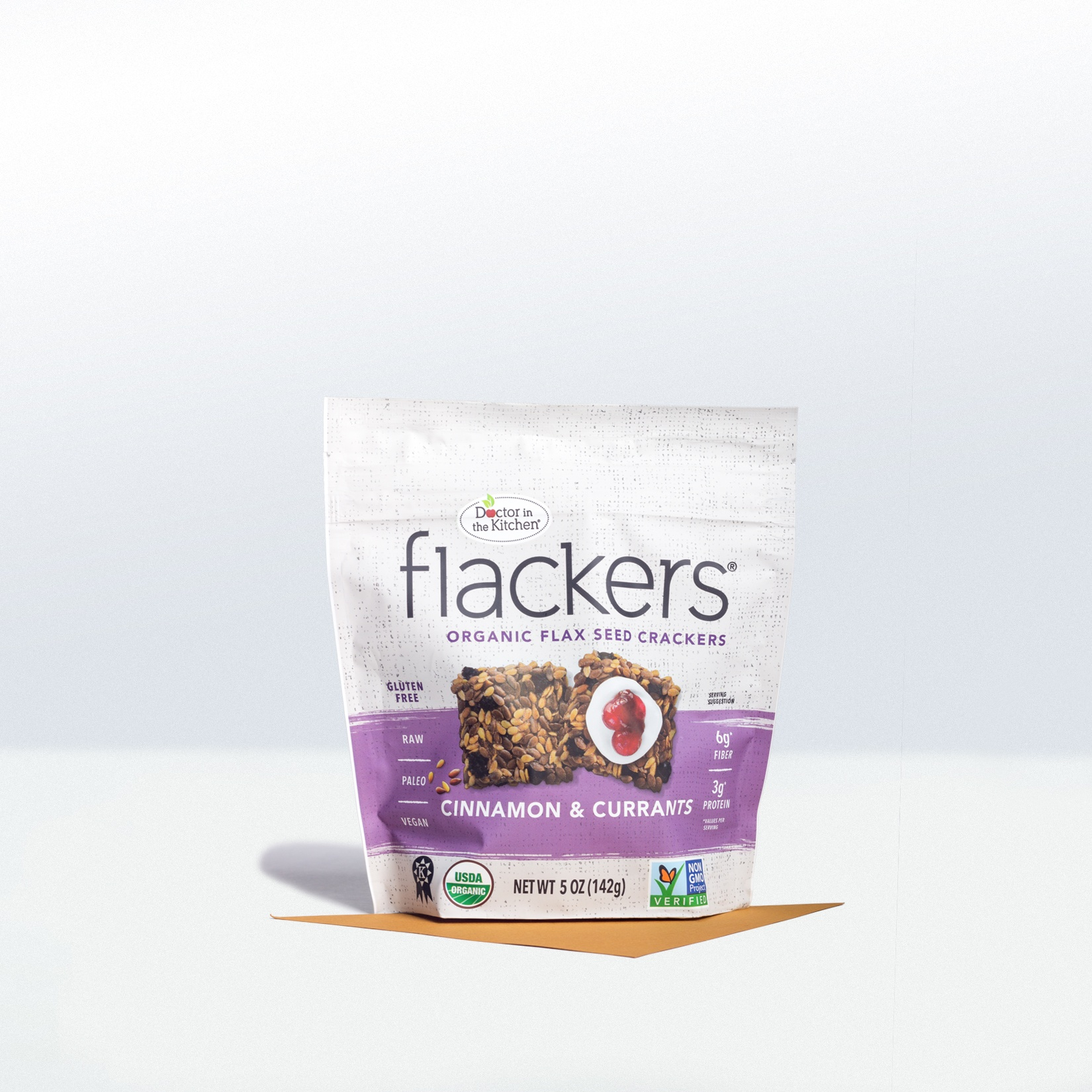 Dr. in the Kitchen-Flackers Cinnamon Currant