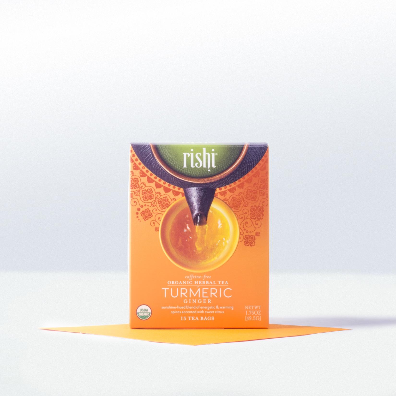Rishi-Organic Tumeric Ginger Tea
