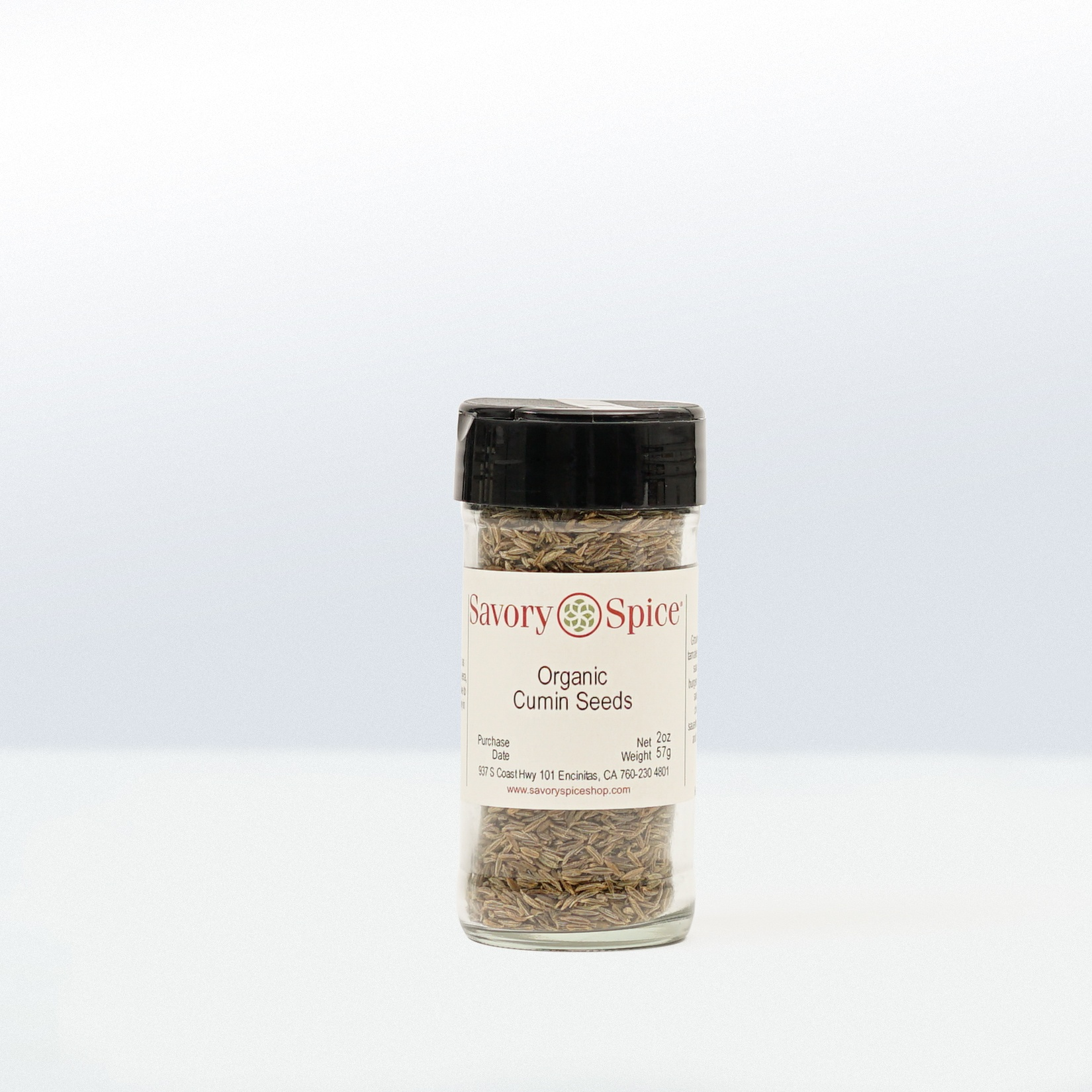 Savory Spice-Organic Cumin Seeds