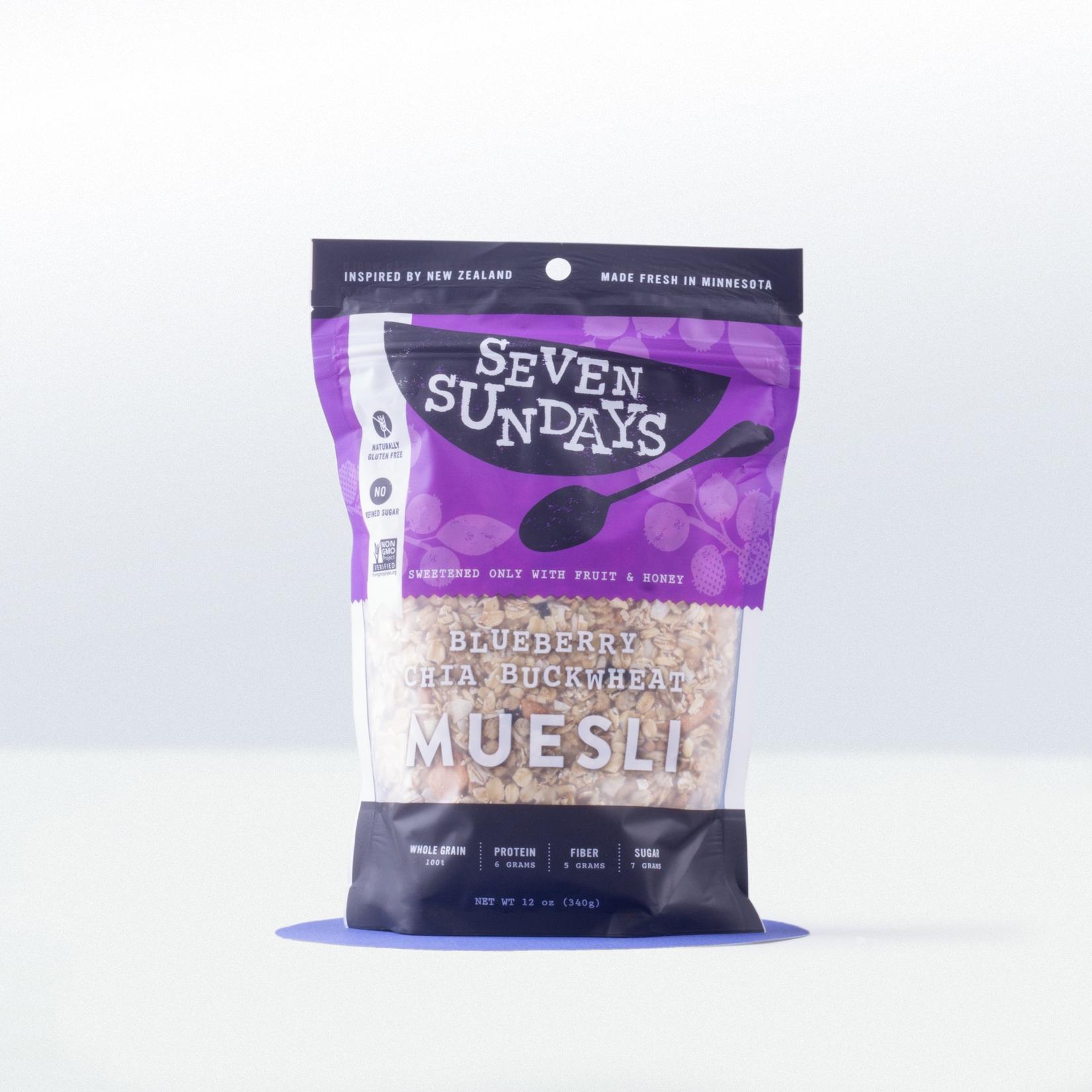 Seven Sundays-Blueberry Chia BuckwheatMuesli