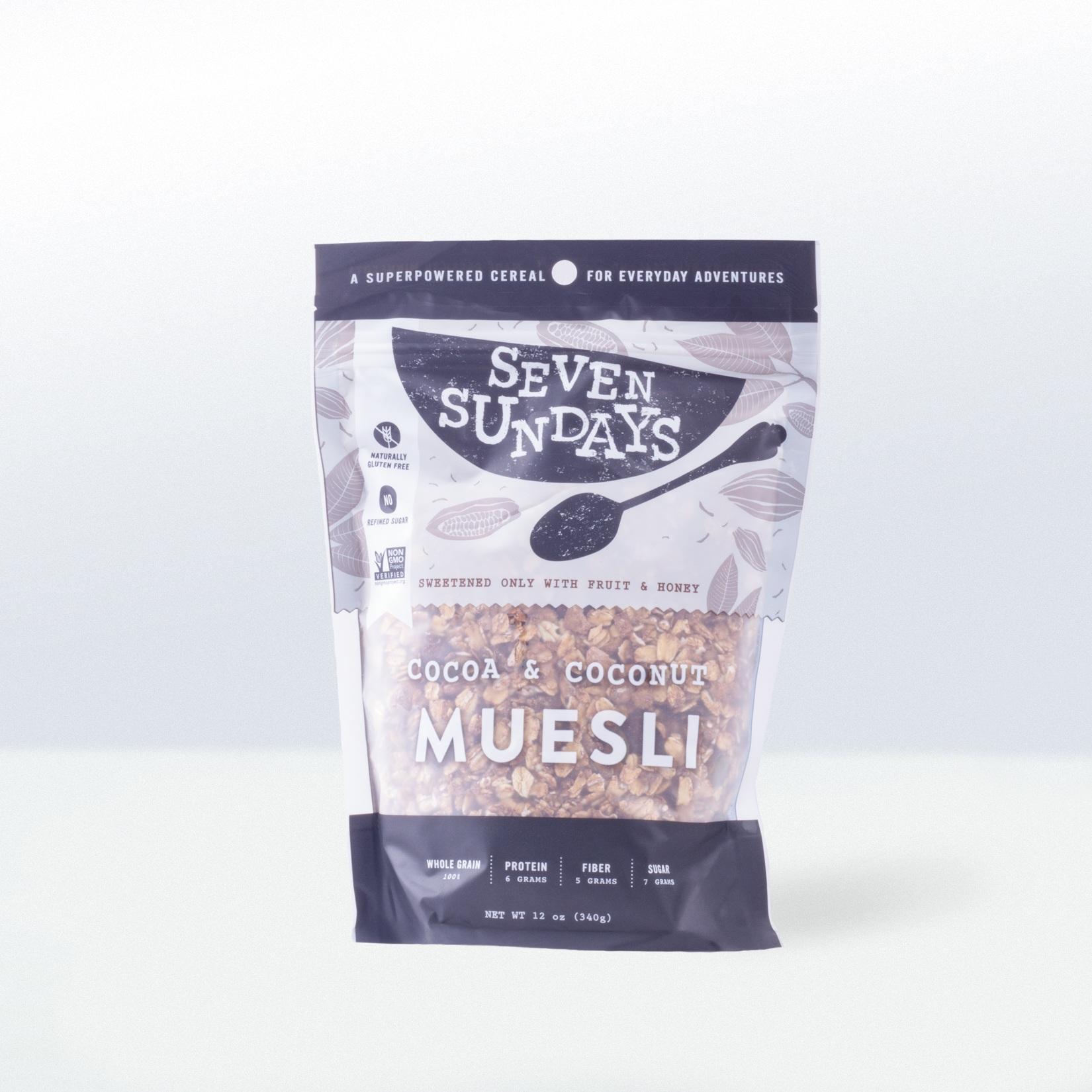 Seven Sundays-Cocoa And Coconut Muesli