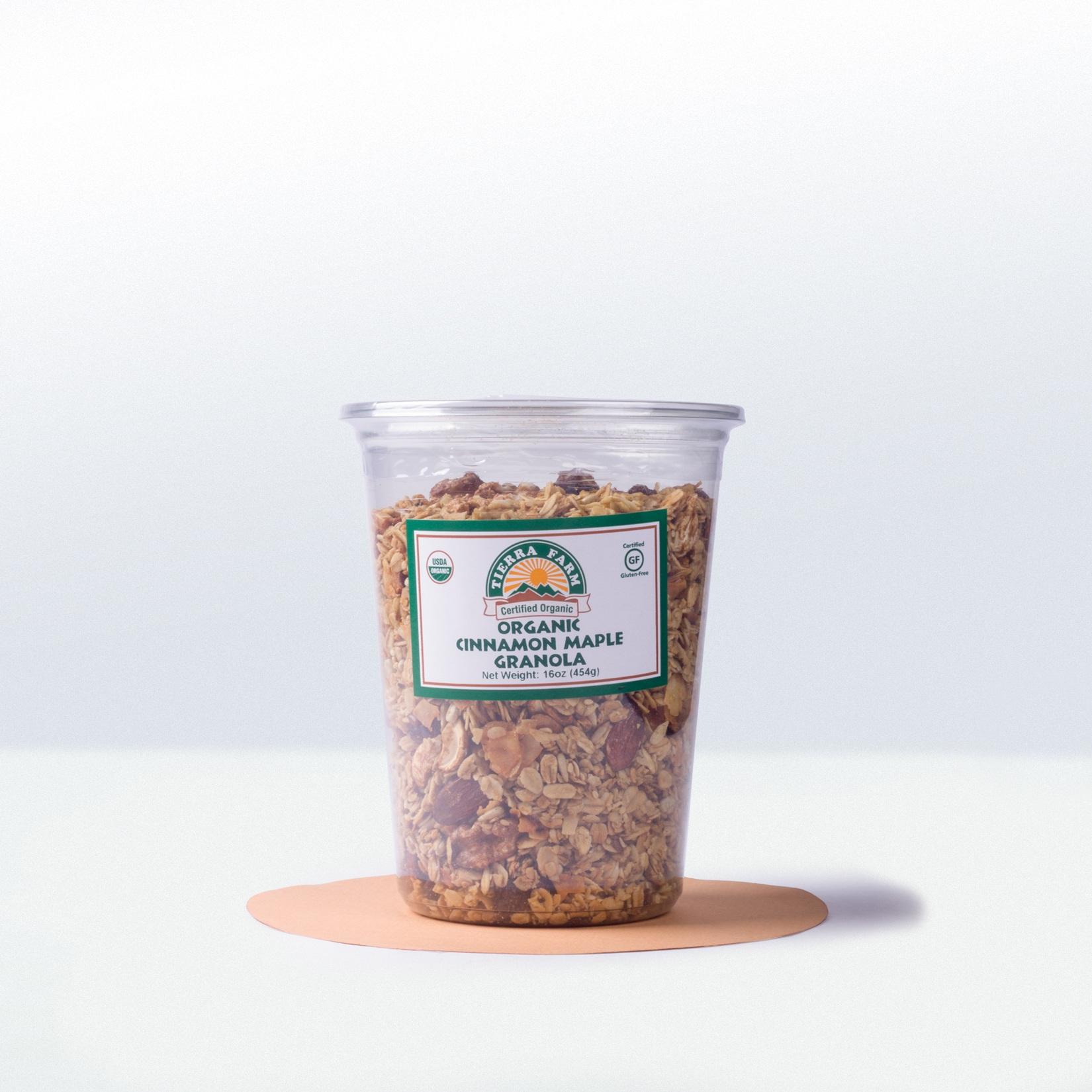 Tierra Farm-Organic Cinnamon MapleGranola
