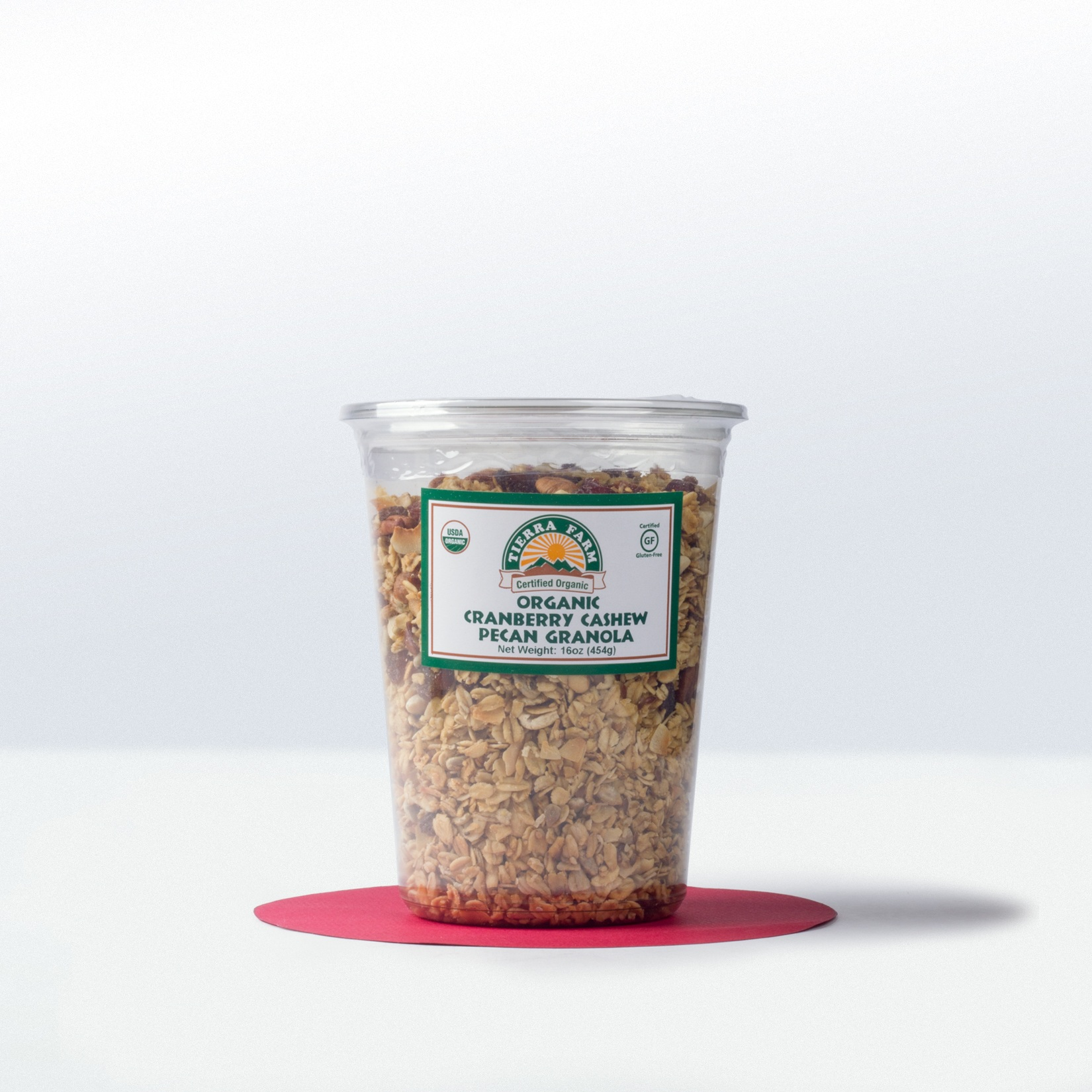 Tierra Farm-Organic Cranberry CashewPecan Granola