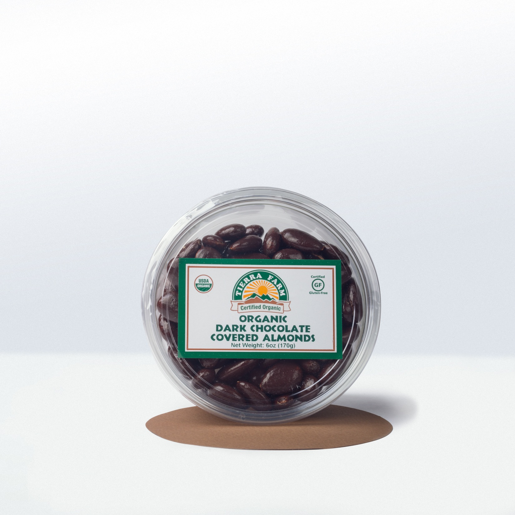 Tierra Farm-Organic Dark ChocolateCovered Almonds
