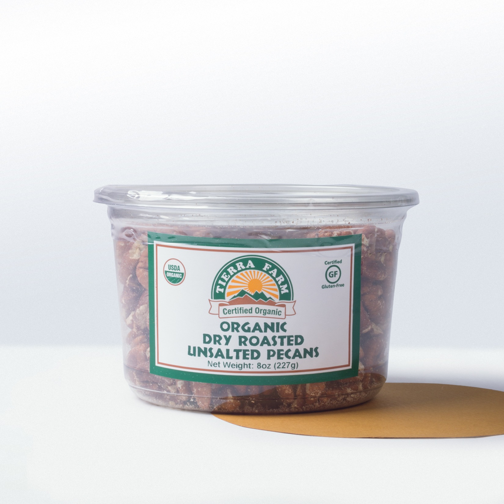 Tierra Farm-Organic Dry RoastedUnsalted Pecans