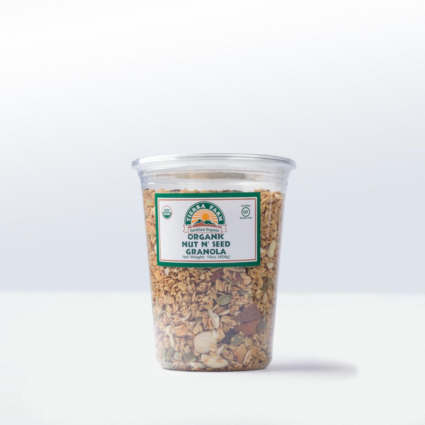 Tierra Farm-Organic Nut n' Seed Granola