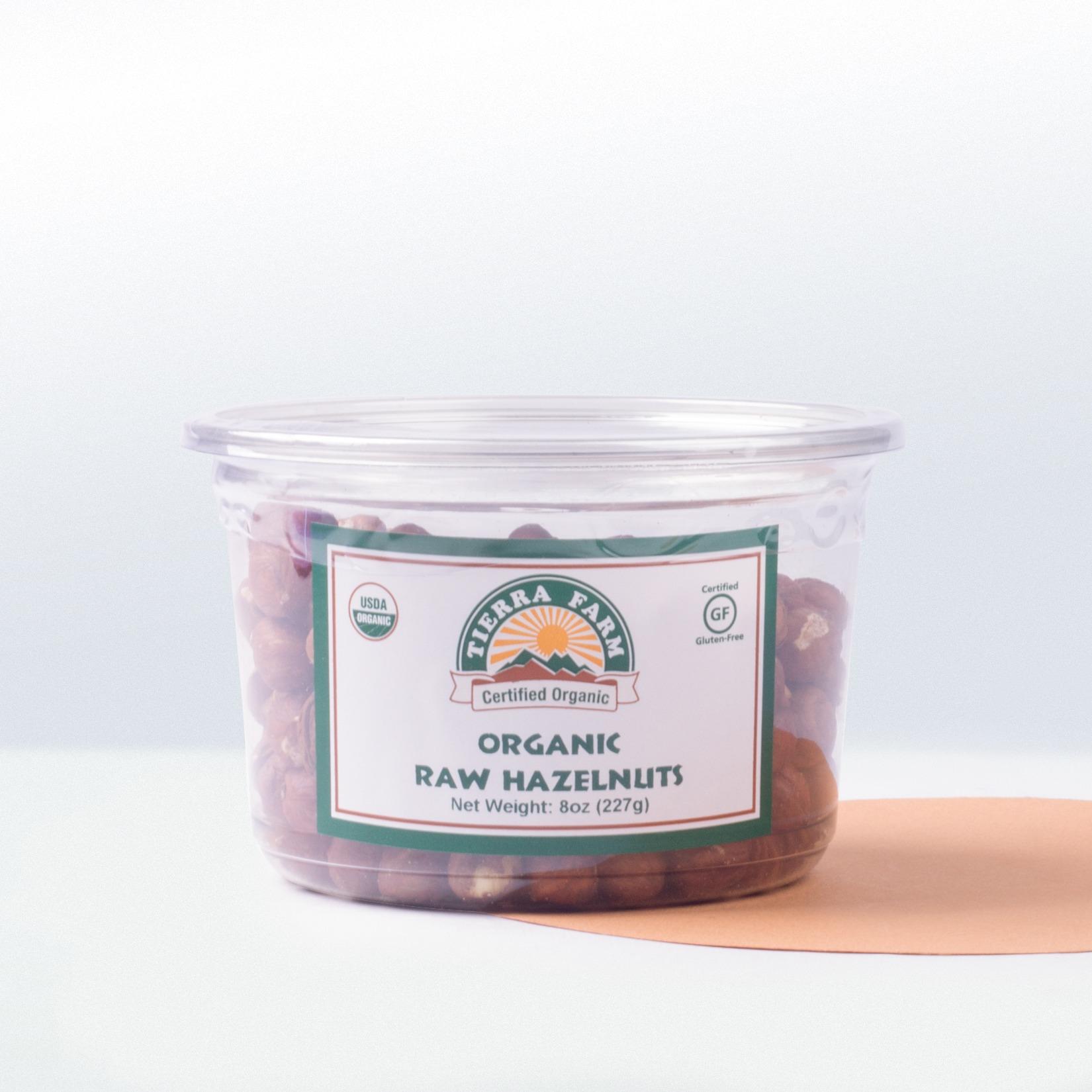 Tierra Farm-Organic Raw Hazelnuts