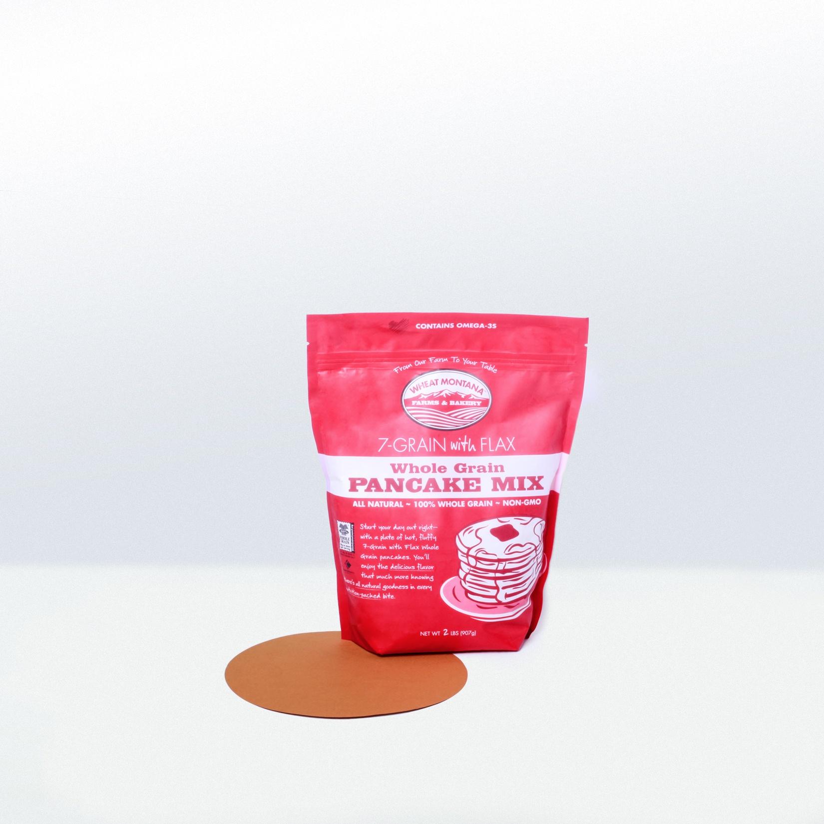 Wheat Montana-7 Grain with FlaxWhole Grain Pancake Mix