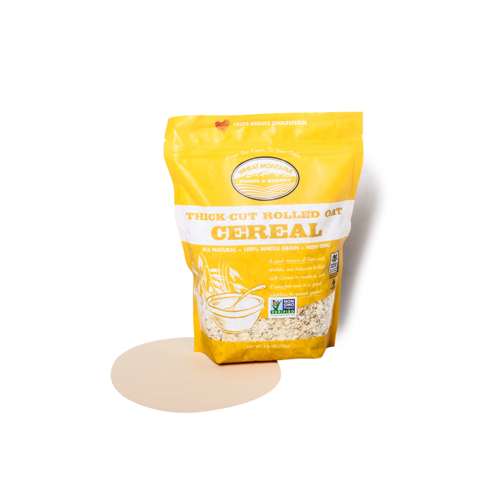 Wheat Montana-Thick Cut Rolled Oat Cereal